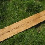 graveren op hout