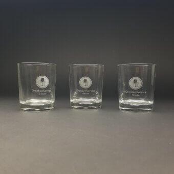 waterglas/ likeurglas 25 cl gegraveerd