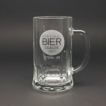gegraveerde bierpul
