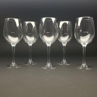 wijnglas met maatstreepje