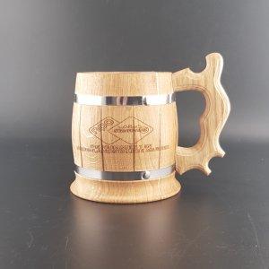 houten bierpul