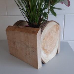 plantenbak van hout