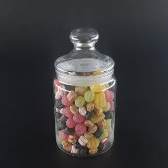 snoeppakket met gegraveerde snoeppot