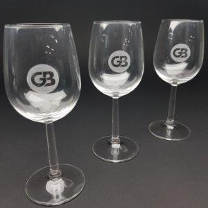 wijnglas 29cl gegraveerd