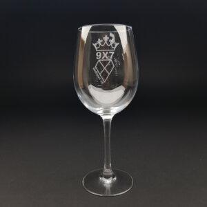 wijnglas 45 cl gegraveerd